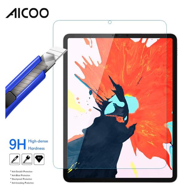 Tablette Protection écran en verre trempé Film de protection en verre anti-déflagrant pour iPad Pro 11 Pro 12.9 2018 11 12.9 pouces avec emballage de vente au détail