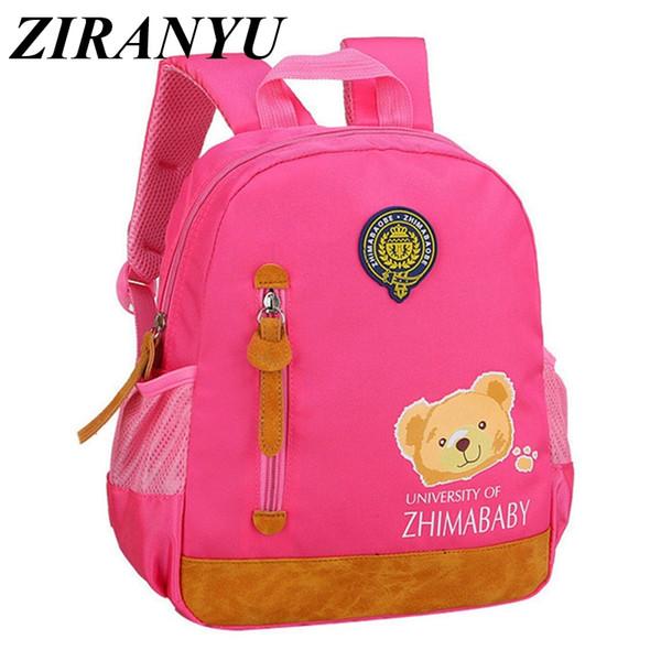 Nursery Baby Schoolbag For Girls Preschool Backpacks For Boys Kindergarten Backpack Kids Children Book Bag