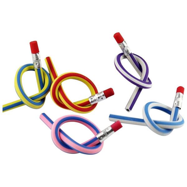 Crayons Bendy souples et souples Magic Bend Kids Équipement Scolaire (15x)