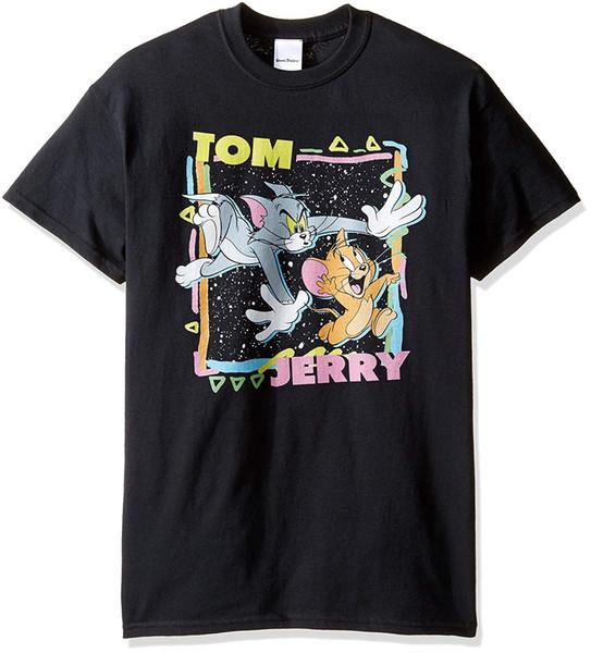 Tom ve Jerry Erkek Kentsel Chase Tişört