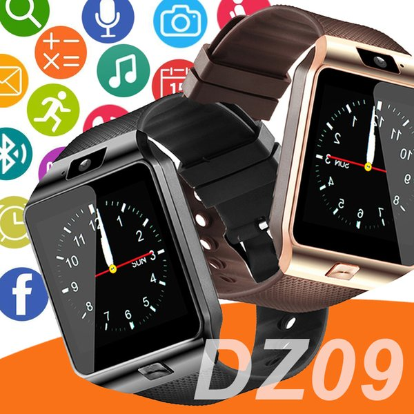 DZ09 smartwatch android GT08 U8 A1 samsung relojes inteligentes SIM El reloj inteligente del teléfono móvil puede grabar el estado de reposo Reloj inteligente