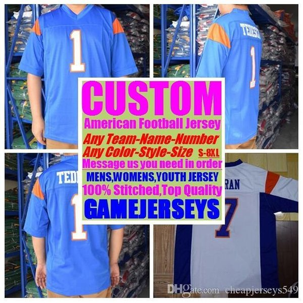 best selling 2019 Personalized american football jerseys college cheap authentic top quality sports jersey stitched mens women youth kids 4xl 5xl 6xl 7xl