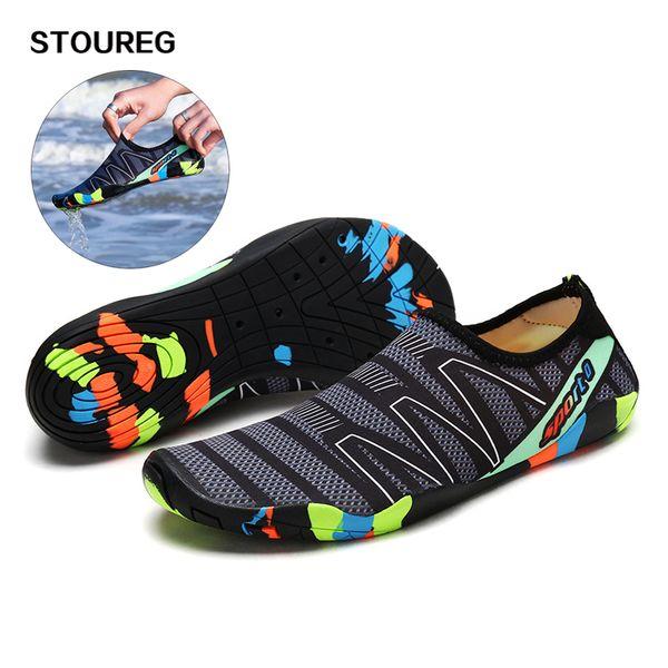 269e740204f9 Men Women Swimming Shoes Unisex Summer Beach Water Shoes Slipper Quick-Dry  Aqua Men s Sneakers