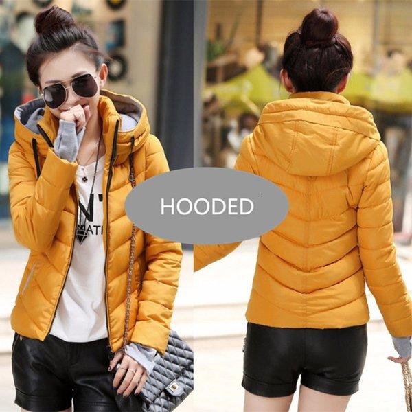 Orange--Hooded