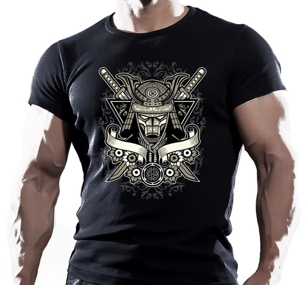 Japan Assassin Shogun T-Shirt Martial Arts Samurai King Rising 2019 Brand Clothing Men Printed Fashion Design Muscle Shirt