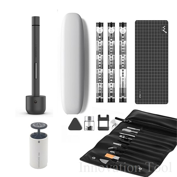 Wowstick 1 Pro Mini Tournevis électrique Batterie rechargeable sans fil Tournevis électrique avec kit de réparation de téléphone cellulaire
