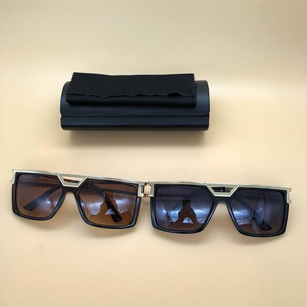 New 2018 Mens Womens Sunglasses Brand designer Sun Glasses Square Frame Vintage eyewears Oculos De Sol With Box 4020