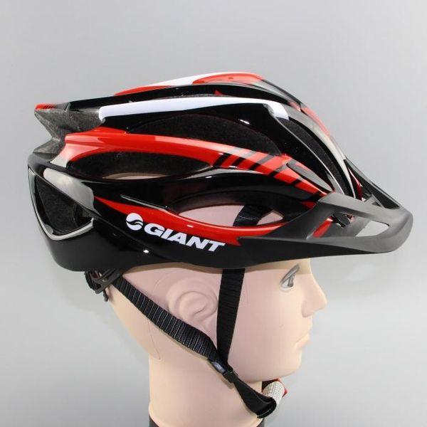 2019 nuevo gigante cascos de bicicletas 54-58cm 270G Hombres Mujeres casco de la bici de montaña bicicleta de carretera moldeado integralmente Ciclismo Cascos