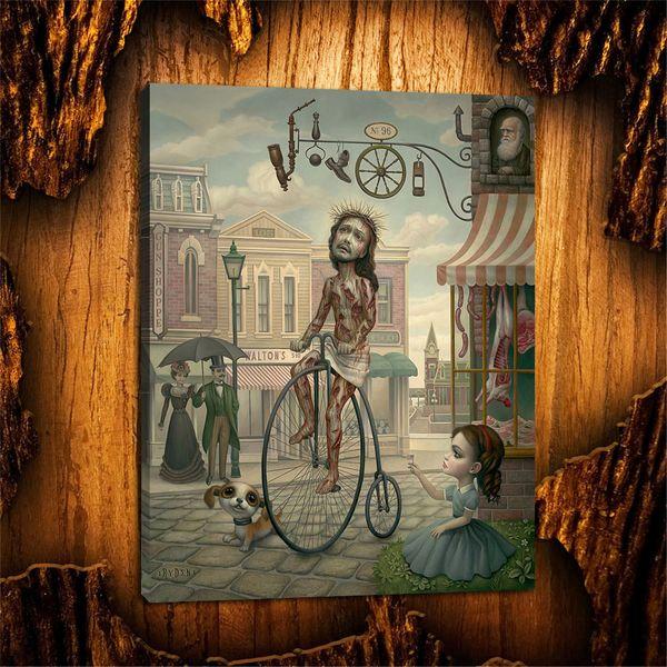 Mark Ryden, Pop Surrealism -44,1 Pezzi Stampe su tela Wall Art Dipinto ad olio Home Decor (Senza cornice / Con cornice) 12X16
