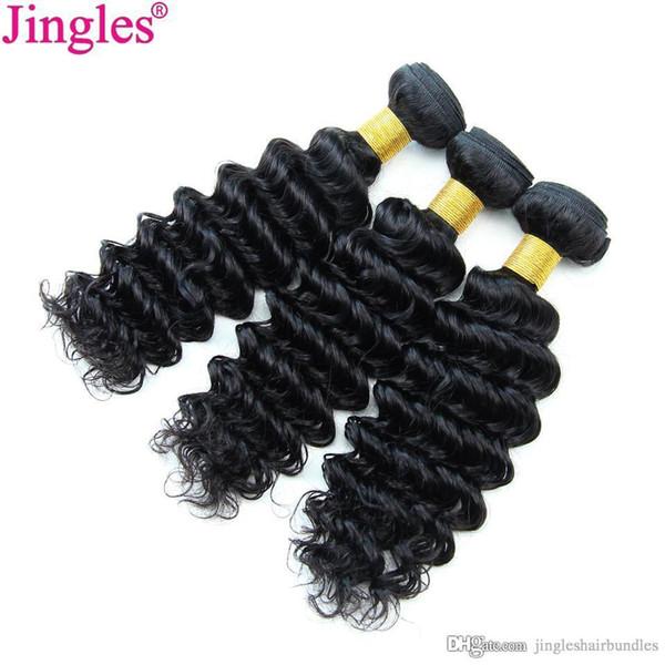 8A Grade Brazilian Virign Hair Bundles Deep Wave Deep Curly Wholesale Cheap 100 Unprocessed Brazilian Virgin Human Hair Weave Bundles Deals
