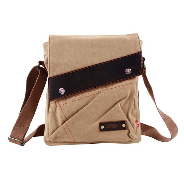 Useful Men Bag Canvas Vertical Package Men Vintage Messenger Bag Leisure Shoulder Original Retro Shell Crossbody Man