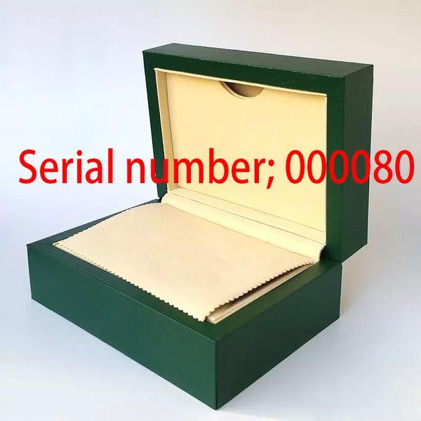 Luxury High Quality Green Original Watch Box Card Boxes Handbag For Sky-Dweller m326934 116660 116610 116710 Man woman gift Watches box