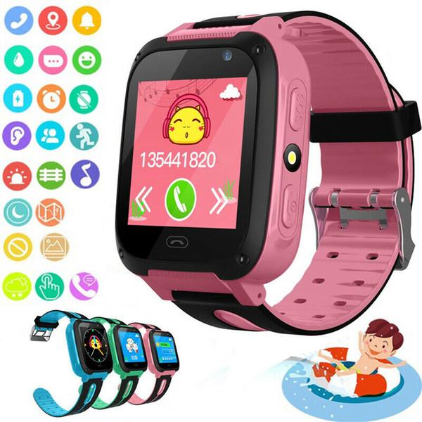 Q9 Relógio Samrt Para Crianças Rastreador Relógio LBS Localização Câmera 1.44