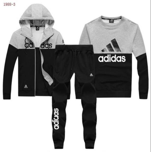 AAA + футбольный тренировочный костюм 2019 новые мужские трикотажные  толстовки марки ветровка + брюки + свитер спортивная одежда костюм женский  роскошный ... 24756238c2f29
