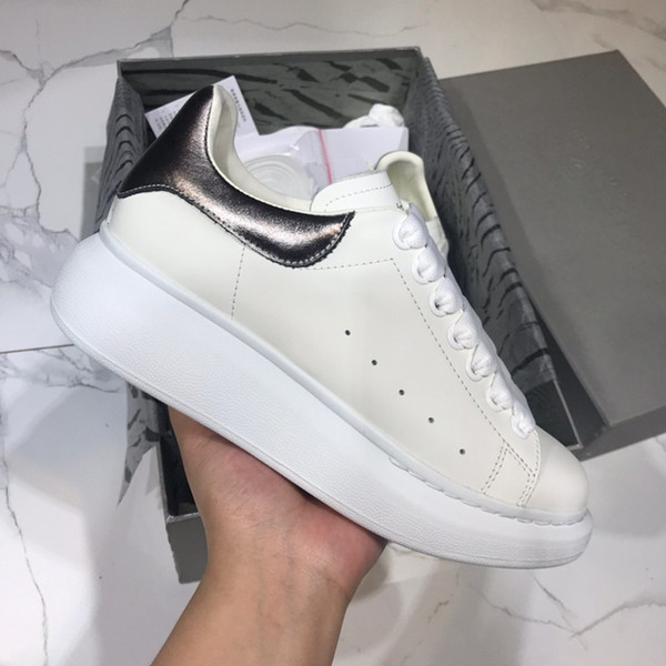 2019 Name Brand Race Runner Shoes Casual Man Woman Trainer Shoes High Quality Patchwork Leather Mesh Sneaker yd19042606
