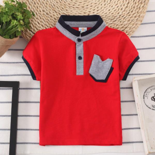 Рубашка поло, детская одежда 2019 Детская одежда для мальчиков, детская футболка, желтая мода, новый стиль, лучшие продажи