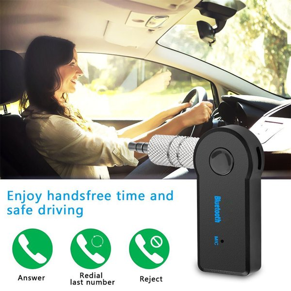 best selling New Real Stereo 3.5 Blutooth Wireless For Car Music Audio Bluetooth Receiver Adapter Aux 3.5mm A2dp For Headphone Reciever Jack Handsfree