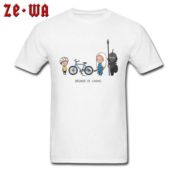 Хлопок топы тис мужчины футболки Игра престолов футболка забавный мультфильм Дракон мать футболка выключатель цепи комиксы одежда