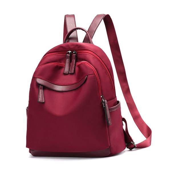 Moda Mochilas Mulheres casual Escola Para Meninas Moda saco de Escola oxford boa Qualidade Faculdade Mochila meninas de volta sacos