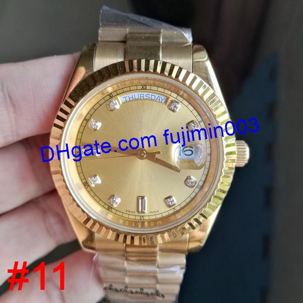 # 11 Yellow Gold (senza scatola)