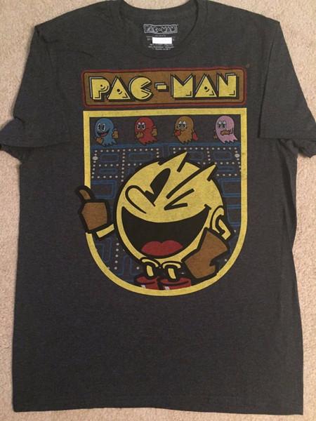 PAC-MAN Atari Video GAME System BLINKY Vintage RETRO ghost Ms. New MEN'S T-Shirt 2018 New Brand Short Sleeve print