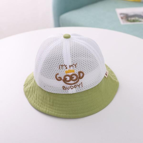 Хороший Mesh Cap-зеленый