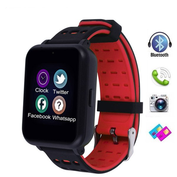 Bluetooth Smart Watch Whatsapp SIM Card TF Watches Sleep Message Call Reminder Sport Band Camera For Android Watch Men Women