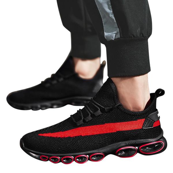 MUQGEW moda uomo traspirante maglia leggera scarpe sportive casual scarpe da corsa uomo traspirante sneakers maschili 8 # G6