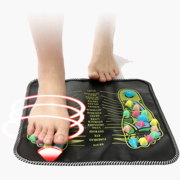 Fitness Fitness Peeling con agopuntura Massaggio plantare con riflessologia plantare Massaggio del piede su strada in pietra Two-in-one