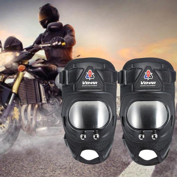 4 pezzi / set gomito manica del ginocchio pad corto braccio traspirante gamba protettiva protezione protettore moto all'aperto ciclismo abbigliamento sportivo accesso