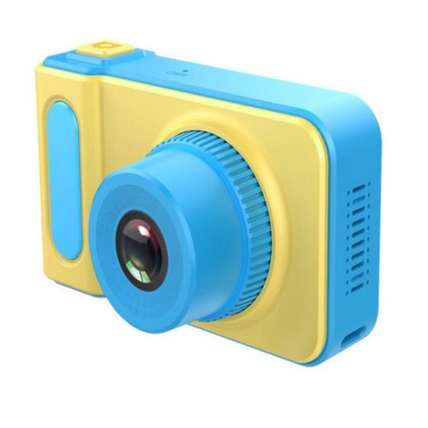 NEW Kids Camera Mini Digital Camera Cute Cartoon Cam 1080P Toddler Toys Children Birthday Gift 2 Inch Screen Cam Birthday Gift Inch Screen