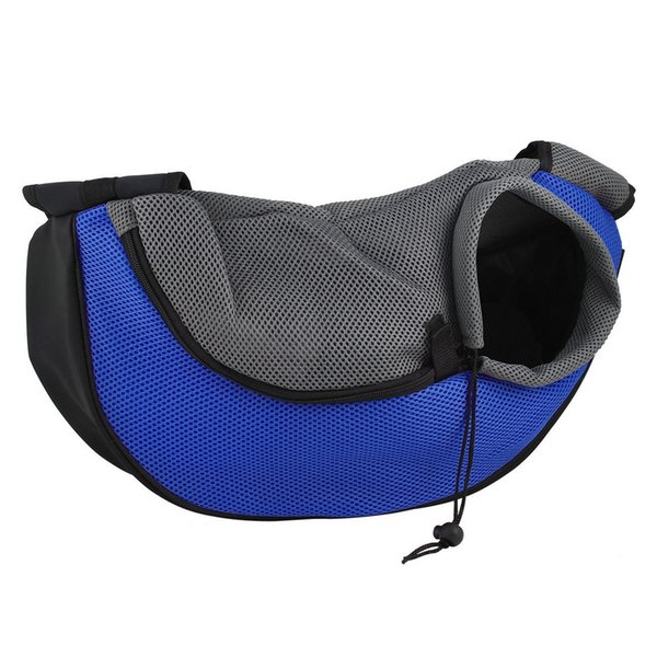 Free Shipping Pet Carrier Cat Puppy Small Animal Dog Carrier Sling Front Mesh Travel Tote Shoulder Bag Backpack Pet Silicone Bowl Optional
