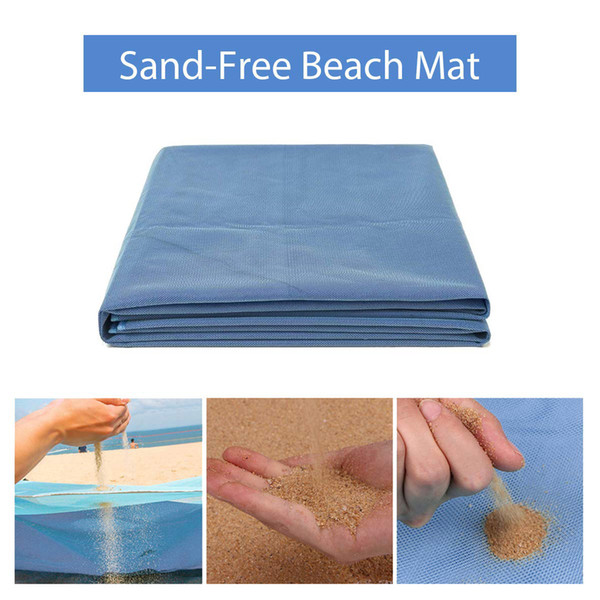 200 X 200cm Beach Mat Sand Free Magic Mat Beach Sandless Foldable Outdoor Waterproof Blanket Camping Picnic Folding Mat Camping & Hiking Camping Mat