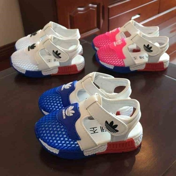 2019 New Fashion Summer Boys Air Mesh Casual Shoes Children Baby Girl Beach Sandal Fashion Toddler Sport Sandals Size 15-25 Y19051602