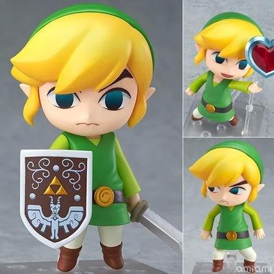 The Legend of Zelda Nendoroid Link the Wind Waker Breath of the Wild Version 413 553 733 PVC Action Figure