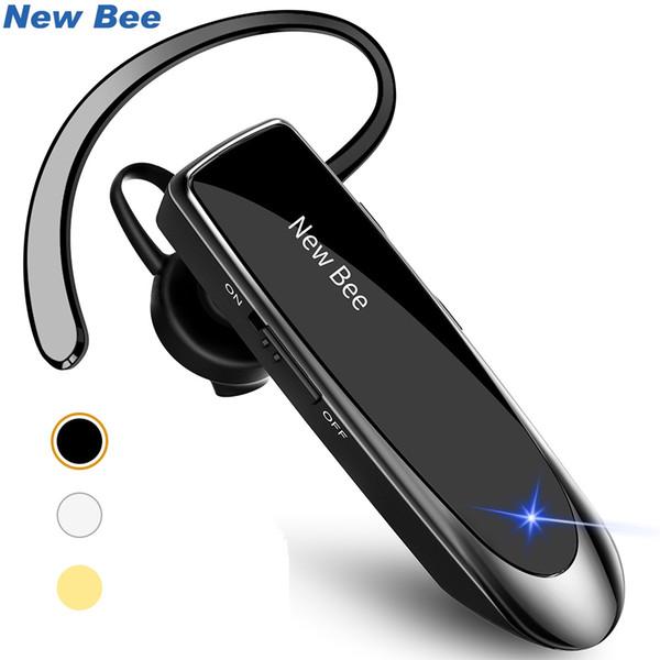 New Bee Bluetooth Headset Bluetooth Kopfhörer Freisprecheinrichtung Kopfhörer Mini Drahtlose Headsets Ohrhörer Mit Mikrofon Für iPhone xiaomi
