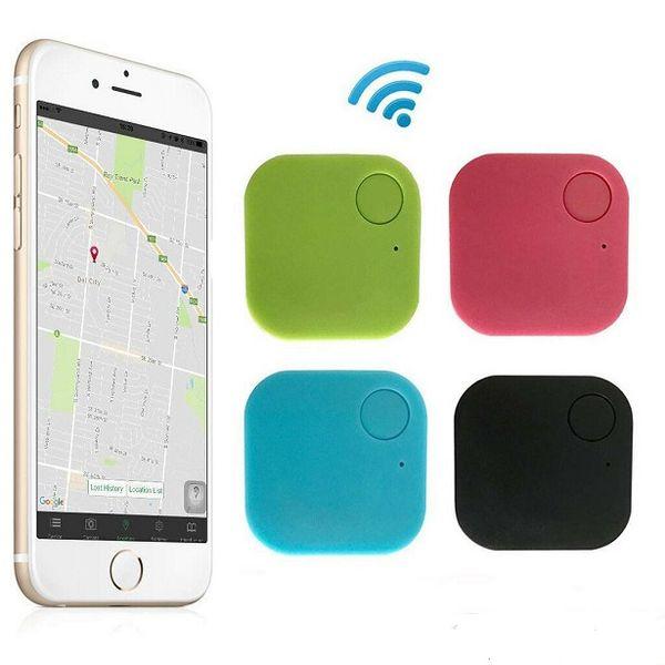 Bluetooth 4.0 Teléfono móvil para mascotas de dos vías para niños mayores Dispositivo inteligente anti-pérdida de seguimiento Dispositivo Bluetooth anti-pérdida cuadrado