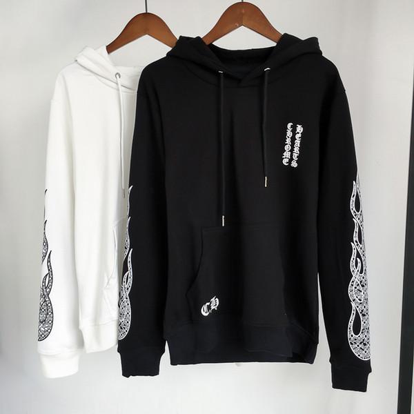 Cromo camisola Corações marca hoodies famosa marca mens de luxo hoodie maré com capuz hoodies camisolas Casais Juventude hip-hop Com Capuz Pullover