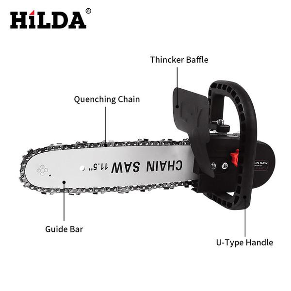 Shilda eléctrico Molino ángulo de cambio de herramienta pulidora de la motosierra para sierra eléctrica del convertidor