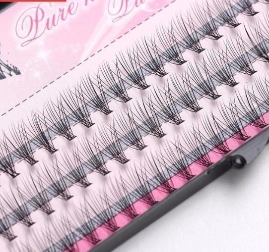 Fashion 60pcs Professional Makeup Individual Cluster Eye Lashes Grafting Fake False Eyelashes Fashion