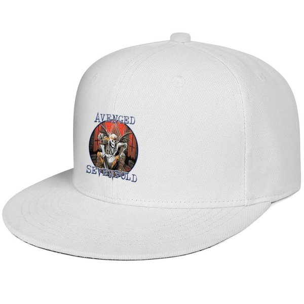 Avenged Sevenfold skull bat Snapback Trucker Cap Professional Cotton Caps Curved Unisex Men's Women's Hats
