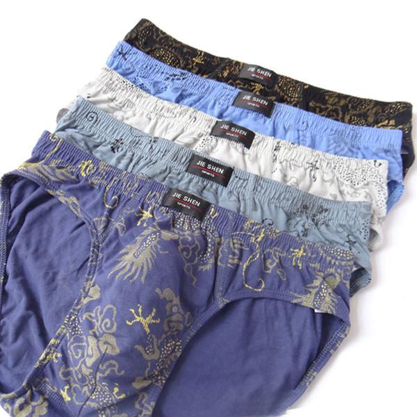New Cotton Briefs Factory Direct Sale 5pcs/Lot Mens Brief Cotton Mens Bikini Underwear Pant For Men Sexy men briefs underwear