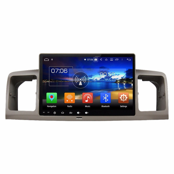 "1024*600 10.1"" Android 8.0 Android 8.1 Car Radio Car DVD Player for Toyota Corolla E120 /Corolla EX GPS WIFI Bluetooth USB DVR"