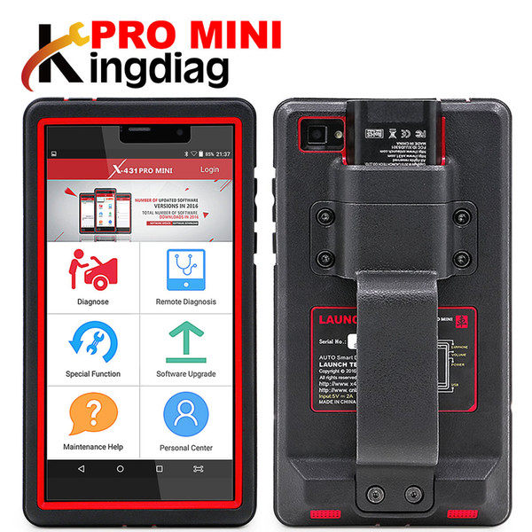 Launch X431 Pro mini Full system diagnostic tool obd2 Scanner X-431 pro pros mini 2 years Free update online DHL free