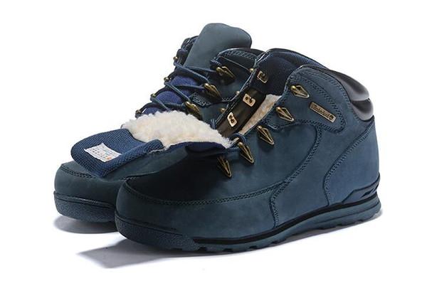 Kış Bayan Erkek Sokak Modası dağcılık ayakkabıları için kadife serisi ile Kış Açık ayakkabı Bir