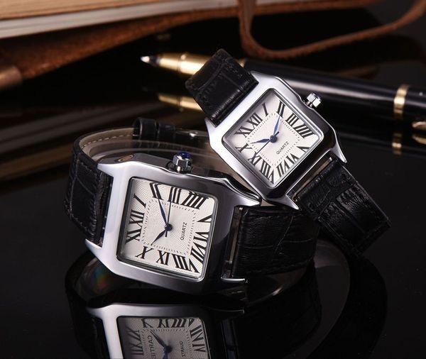 Nuevos modelos de explosión de comercio exterior productos de lujo cinturón casual hombres y mujeres parejas reloj de hombre cinturón reloj pulsera señoras reloj pulsera