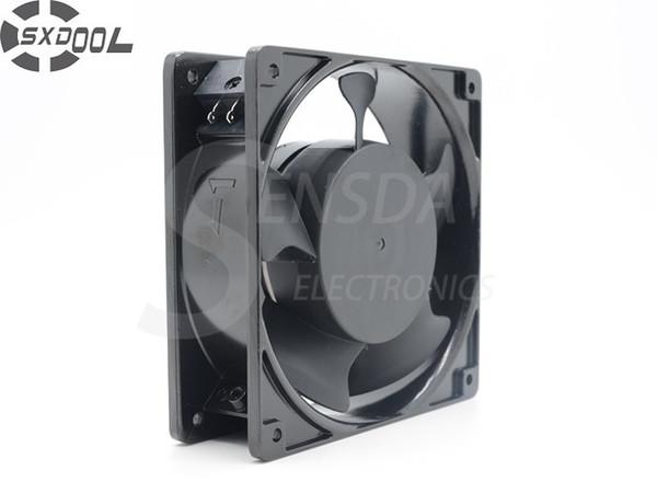 SXDOOL 4E-230B 12038 12cm 230V 22//21W metal frame industrial Thermostable fan