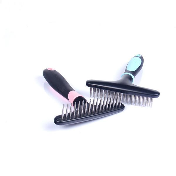 2017 Pet Dog Short Long Thick Hair Fur Shedding Remove Cat Groom Rake Brush Comb Supplies Pets
