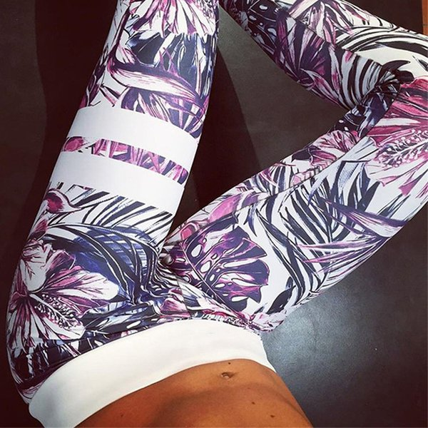 Yoga Pants Women Sports Clothing Chinese Style Printed Yoga leggings Fitness Running Tights Sport Pants Compression Tights