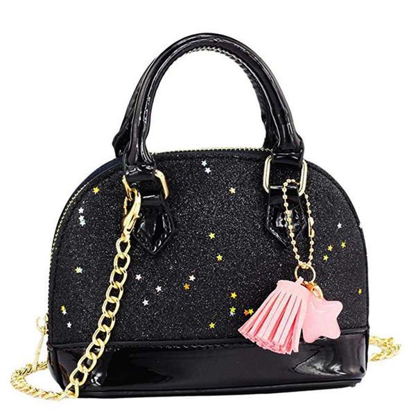 TFTP-Little Girls 'Lantejoulas Bolsas Princesa Crossbody Bag Mini Satchel Presentes Para Meninas Crianças Da Criança